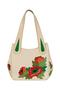 Фото 2 Кожаная женская сумка №33, Маки в интернет-магазине Unique U