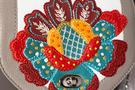 Фото 3 Кожаная женская сумка №31, Загадочный цветок  в Интернет-магазине UNIQUE U