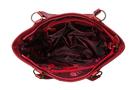Фото 5 Кожаная женская сумка №46, ЯПОНСКИЕ ПТИЧКИ, красная в интернет-магазине Unique U