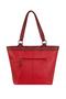 Фото 6 Кожаная женская сумка №46, ЯПОНСКИЕ ПТИЧКИ, красная в интернет-магазине Unique U