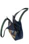 Фото 6 Кожаная женская сумка №33, Пейсли синяя в Интернет-магазине UNIQUE U