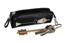 Фото 2 Кожаная ключница №2, Фонарь чёрно-серый в Интернет-магазине UNIQUE U