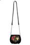 Фото 2 Кожаная женская сумка №31, Хохлома, чёрная в интернет-магазине Unique U