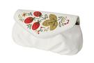 Фото 3 Кожаная сумка №34, Хохлома, белая в интернет-магазине Unique U