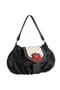 Фото 2 Кожаная сумка №38, Мак, чёрная в интернет-магазине Unique U