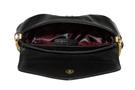 Фото 4 Кожаная женская сумка №34, Хохлома, чёрная в интернет-магазине Unique U