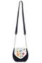 Фото 2 Кожаная женская сумка №31, Вальс цветов, синий, Интернет-магазин Юник
