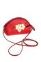 Фото 1 Кожаная женская сумка №45, Сакура, красный в интернет-магазине Unique U