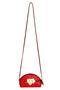 Фото 2 Кожаная сумка №45, Сакура, красный в интернет-магазине Unique U