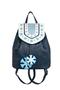 Фото 1 Кожаный женский рюкзак №47, Зима, синий в интернет-магазине Unique U