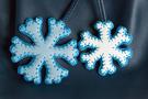 Фото 3 Кожаный женский рюкзак №47, Зима, синий в интернет-магазине Unique U