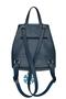 Фото 4 Кожаный женский рюкзак №47, Зима, синий в интернет-магазине Unique U
