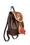 Фото 2 Кожаный женский рюкзак №47, Осень, коричневый в интернет-магазине Unique U