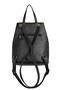 Фото 4 Кожаный женский рюкзак №47, Панда, чёрный в интернет-магазине Unique U