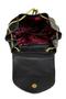 Фото 5 Кожаный женский рюкзак №47, Панда, чёрный в интернет-магазине Unique U