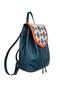 Фото 2 Кожаный женский рюкзак №47, Румба синий в интернет-магазине Unique U