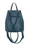 Фото 3 Кожаный женский рюкзак №47, Румба синий в интернет-магазине Unique U