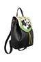 Фото 2 Кожаный женский рюкзак №47, Панда, чёрный в интернет-магазине Unique U