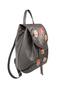 Фото 2 Кожаный рюкзак №47, Японские птички, серый в интернет-магазине Unique U