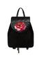 Фото 1 Кожаный рюкзак №47, Роза, чёрный в интернет-магазине Unique U