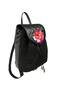 Фото 2 Кожаный рюкзак №47, Роза, чёрныый в интернет-магазине Unique U