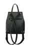 Фото 4 Кожаный рюкзак №47, Роза, чёрныый в интернет-магазине Unique U
