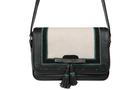 Кожаная женская сумка №48 Оксфорд чёрная  в интернет-магазине Unique U дизайнера Елены Юдкевич Фото 3