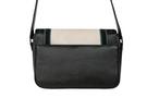 Кожаная женская сумка №48 Оксфорд чёрная  в интернет-магазине Unique U дизайнера Елены Юдкевич Фото 5