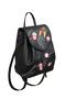 Кожаный рюкзак №47, Японские птички, чёрный в интернет-магазине Unique U дизайнера Елены Юдкевич Фото 2
