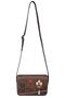 Кожаная женская сумка №48 Ночной город коричневый  в интернет-магазине Unique U дизайнера Елены Юдкевич Фото 2