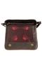 Кожаная женская сумка №48 Ночной город коричневый  в интернет-магазине Unique U дизайнера Елены Юдкевич Фото 5