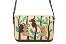 Кожаная женская сумка №48 Коалы коричневый  в интернет-магазине Unique U дизайнера Елены Юдкевич Фото 4