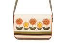 Кожаная женская сумка №48 Подсолнухи  в интернет-магазине Unique U дизайнера Елены Юдкевич Фото 3