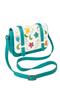 Кожаная женская сумка №48 Вальс цветов бирюза  в интернет-магазине Unique U дизайнера Елены Юдкевич Фото 1