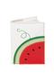 кожаная обложка на паспорт №2, арбуз