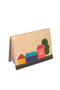Кожаная обложка на паспорт №1 бежевая