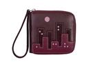 Женский кожаный кошелек-портмоне