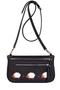 Кожаная женская сумка кросс-боди/ на пояс/ клатч м56